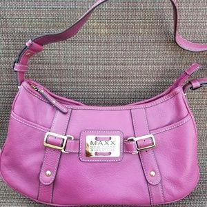 Maxx New York Signature Leather Purse